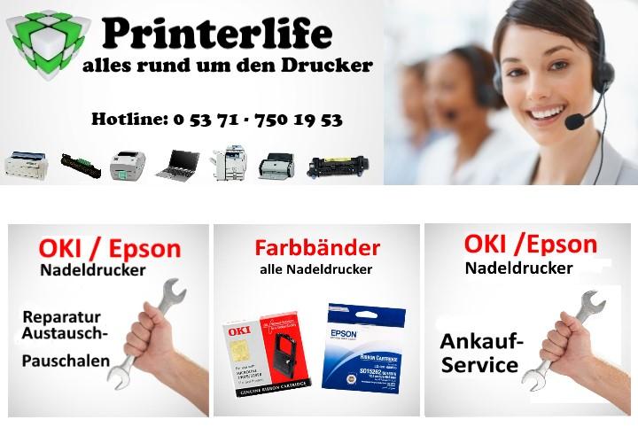 Banner Nadeldrucker Startseite