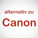 Canon, alternativ zu